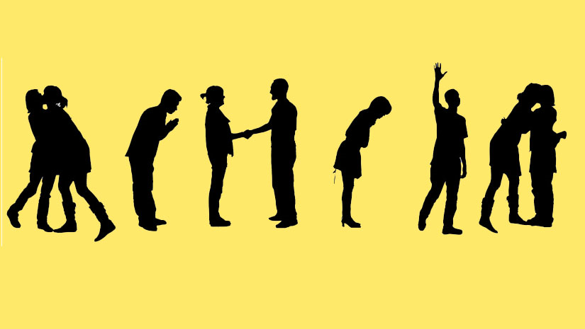 Social Greetings: Elbow Bumps Just Don't Cut It